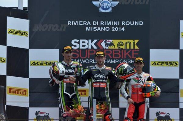 sbk-misano-gara2-podio-2014